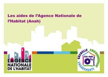 Aides Anah E. Bouvier - Communauté d'agglomération Marne et ...