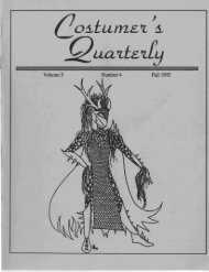 Vol 5 No 4 - International Costumers' Guild, Inc.