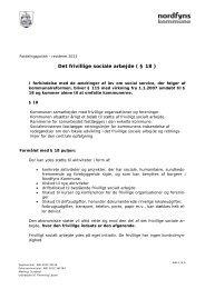 Fordelingspolitik - Nordfyns Kommune