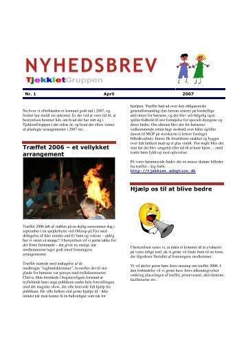 April 2007 - tjekkiet@adoption.dk
