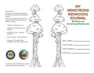 my armstrong redwoods journal - Stewards of the Coast and ...