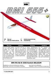 11622 manual BMI 555 Plus - BMI-models