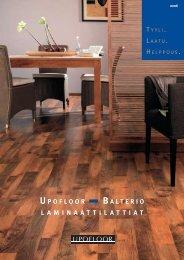 Upofloor-Balterio –laminaattilattiat - Rakentaja.fi