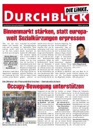 DURCHBLICK-EINBLICKE.Winter 2011-2012.pdf - DIE LINKE ...