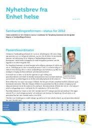 Samhandlingsreformen - Sarpsborg kommune