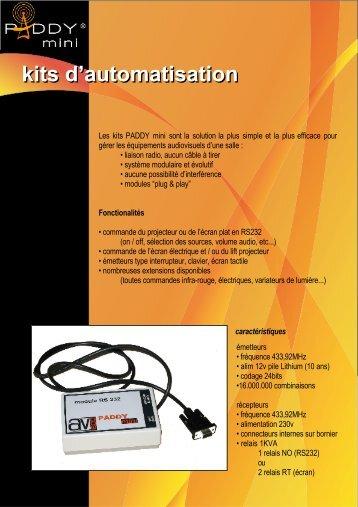 kits d'automatisation kits d'automatisation - Ais-info.fr