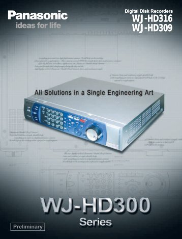WJ-HD316 WJ-HD309 - Vitelsa Norte