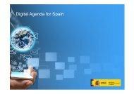 Digital Agenda for Spain - La Moncloa