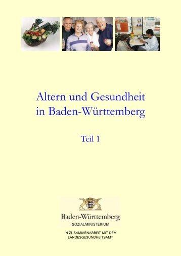 Altern und Gesundheit in Baden-Württemberg - Öffentlicher ...