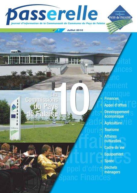 Voir le n° 7 ( juillet 2010 ) - Communauté de Communes du Pays de ...