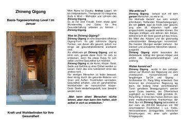 Zhineng Qigong - Home - Wellness und Gesundheit