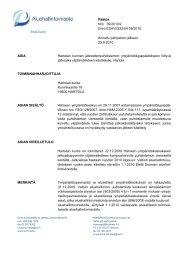 ASIAN SIIRTO - Aluehallintovirasto
