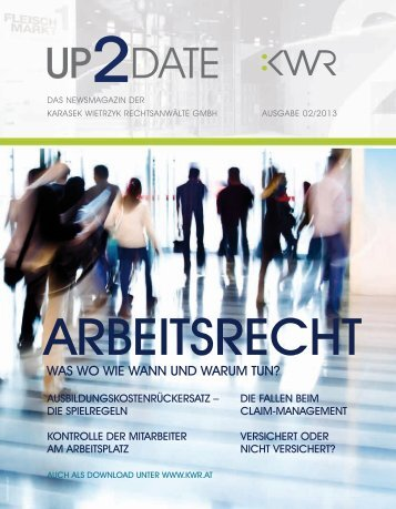 Up to date nr 02/2013 - KWR