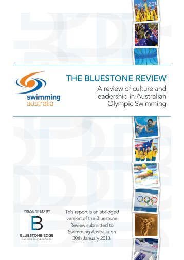THE BLUESTONE REVIEW