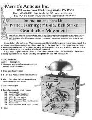 "Kieninge,® 8:day Bell"" Strike - Popular Woodworking Magazine"