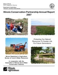 Illinois Conservation Partnership Annual Report 2007