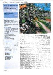 Mallorca - Frühlingstraum und Marrdelblüte