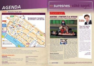 Côté sport - Numéro 2 - Mars 2011 (pdf - 715,57 ko) - Suresnes
