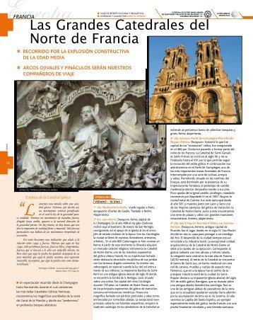 Las Grandes Catedrales del Norte de Francia - Viajes Mundo Amigo