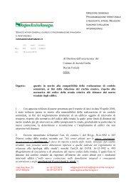 Parere prot. n. 156631 del 15 giugno 2010 - Territorio - Regione ...