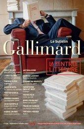Téléchargez le Bulletin Gallimard