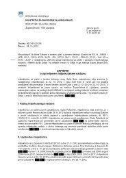 0613-61/2012/6 - Ministrstvo za pravosodje