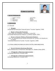 descargar cv - Fundación ArgenINTA