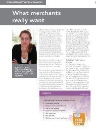 What merchants really want, Q1 2011 - Equens