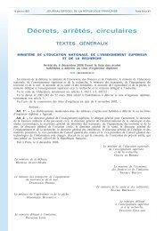 Arrêté du 6 décembre 2006 - Commission des Titres d'Ingénieur