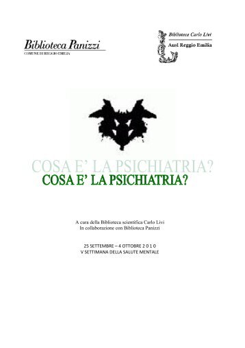 A cura della Biblioteca scientifica Carlo Livi In collaborazione con ...