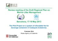 Review meeting of the Draft Regional Plan on Marine Litter ...