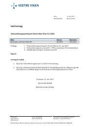 Tittel – Verdana 14 punkt, fet skrift - Vestre Viken HF