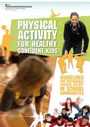 Physical Activity for Healthy, Confident Kids: Guidelines - Health and ...