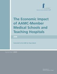 The Economic Impact of AAMC-Member Medical Schools and ...