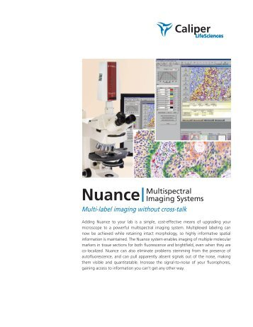 Nuance Multispectral Imaging Systems