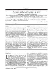 El uso del miedo en los mensajes de salud - Sida Studi