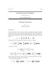 Disquisitio Numerorum - Universidad Autónoma de Madrid