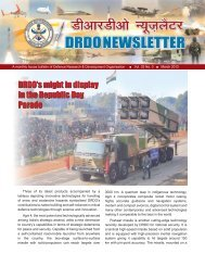 Vol. 32, Issue 3, March 2012 - DRDO