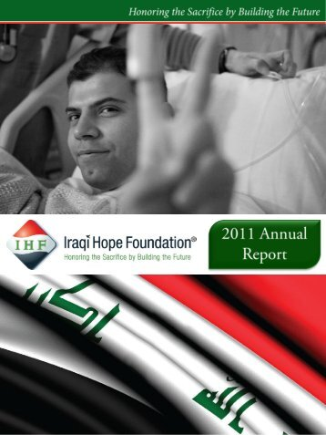 2011 Annual Report - Iraqi Hope Foundation