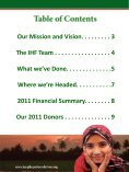2011 Annual Report - Iraqi Hope Foundation - Page 3