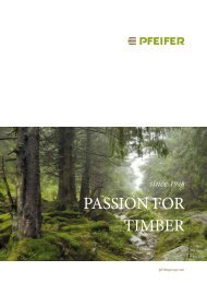PASSioN for Timber - Pfeifer