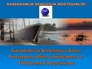 Karadeniz İle İlgili Çalışmalar - Deniz Çevresi Dairesi - Denizcilik ...