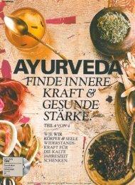 Innere Kraft und gesunde Stärke mit Ayurveda - Ayurveda ...