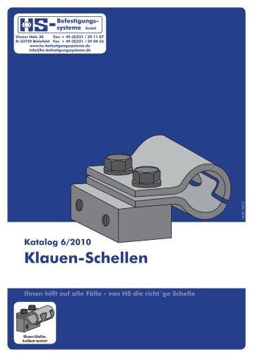 Klauen-Schellen - HS-Befestigungssysteme