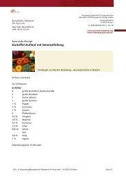 Kartoffel-Auflauf mit Gemüsefüllung - Ayurveda Gesundheits