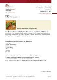 Leckere Brotaufstriche - Ayurveda Gesundheits
