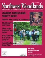 NW Woodlands-Spring 2001 - Washington Farm Forestry Association