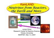 KamLAND: Neutrinos from Reactors, the Earth and more...