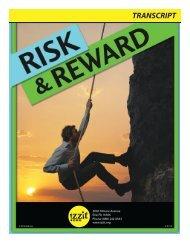 Risk & Reward - Izzit.org