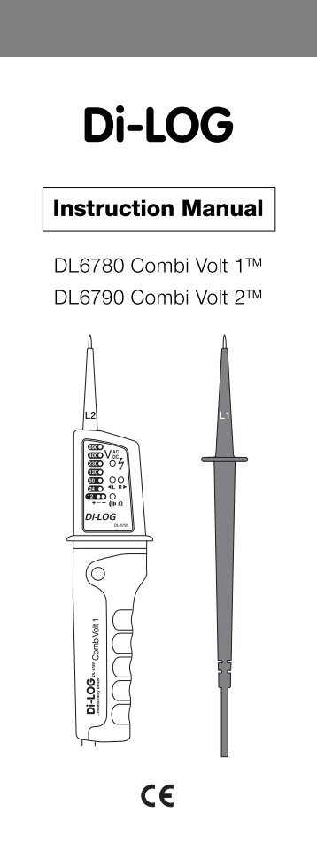 DL6790 Instructions 300Kb pdf - TLC Electrical Supplies
